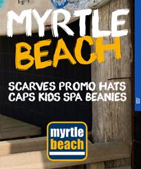 Reklamné čapice a šiltovky. MYRTLE BEACH 79c74599c08